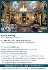 locandina corso floral design